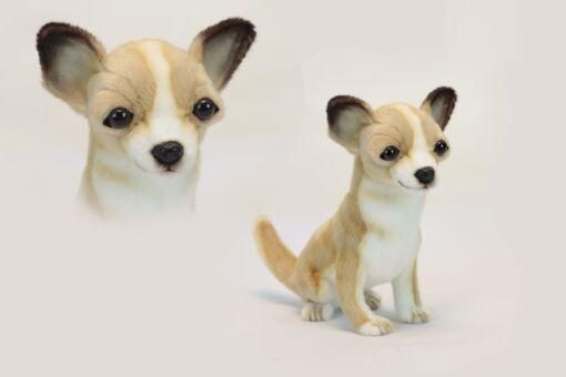 Mooie Witte Chihuahua zittend knuffel  31 cm kopen