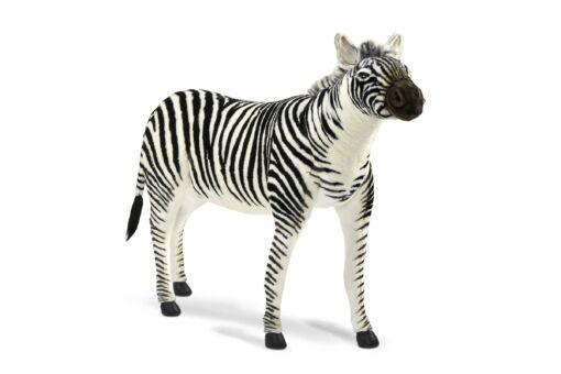 Mooie XL Witte Zebra patroon S decoratie  197 cm kopen