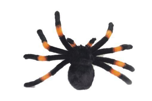 Mooie Zwarte Roodknievogelspin .W knuffel  32 cm kopen