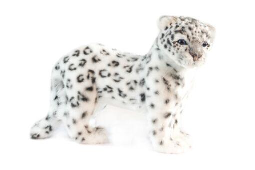 Mooie Witte Sneeuwpanter staand knuffel  40 cm kopen