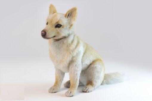 Mooie Witte Spaanse hond knuffel  46 cm kopen