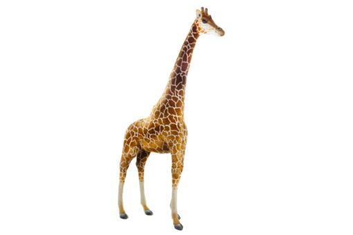 Mooie XL Licht bruine Giraffe decoratie  240 cm kopen