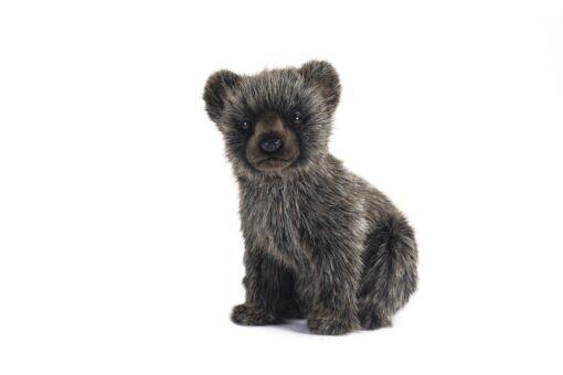 Mooie Grijze Grizzlybeer welp . H knuffel  24 cm kopen