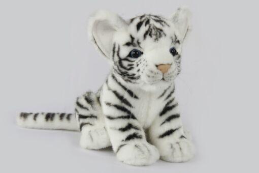 Mooie Witte Tijger welp wit knuffel  17 cm kopen