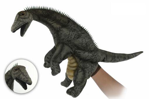 Mooie Grijze Diamantinasaurus Matildae handpop knuffel  43 cm kopen