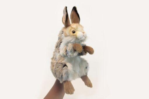Mooie Witte Konijntje handpop knuffel  35 cm kopen
