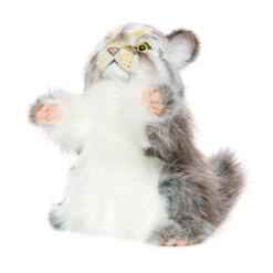 Mooie Witte Manoel handpop knuffel  40 cm kopen