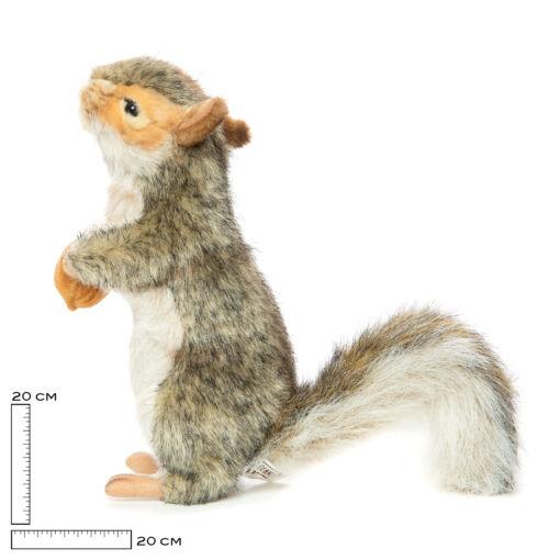Mooie Witte Grijze eekhoorn knuffel  20 cm kopen
