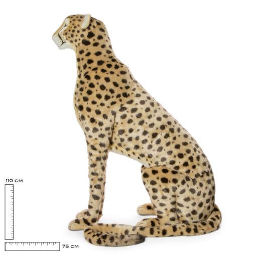Mooie XL Goudgele Cheeta patroon decoratie  110 cm kopen
