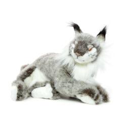 Mooie Grijze Lynx knuffel  40 cm kopen