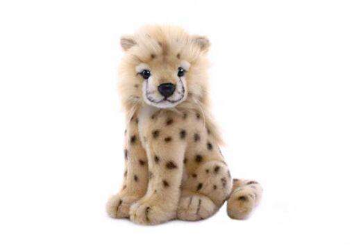 Mooie Beige Cheeta welp knuffel  18 cm kopen