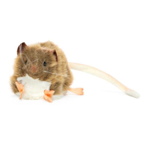 Mooie Bruine Dikke rat bruin knuffel  12 cm kopen