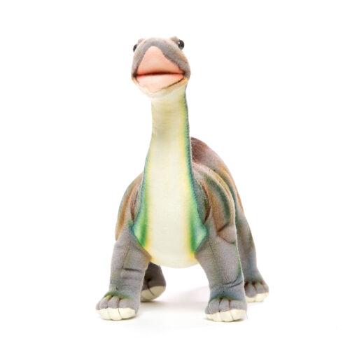 Mooie Grijze Brontosaurus knuffel  45 cm kopen