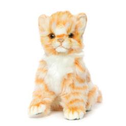 Mooie Roodbruine Kitten rood knuffel  20 cm kopen