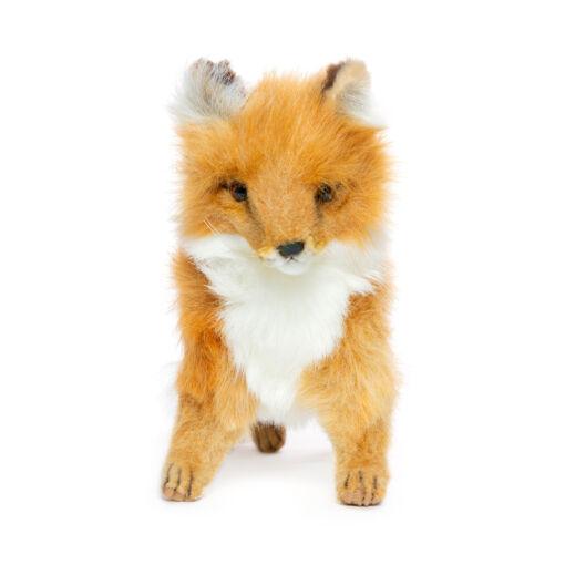 Mooie Beige Vos pup staand knuffel  36 cm kopen