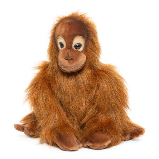 Mooie Roodbruine Orang-oetan jong knuffel  27 cm kopen