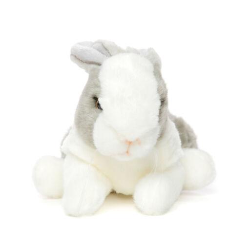 Mooie Witte Konijntje grijs knuffel  21 cm kopen