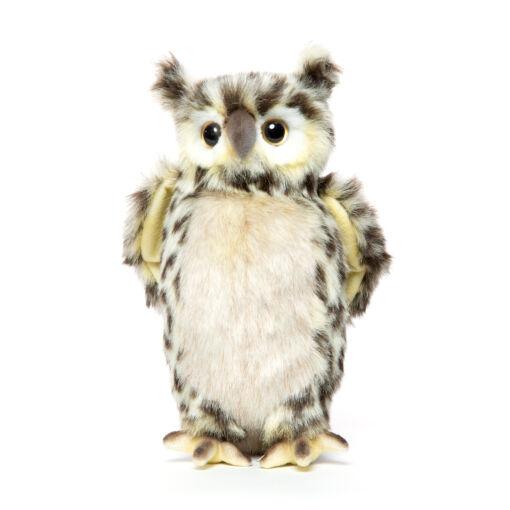 Mooie Creme Uil knuffel  25 cm kopen