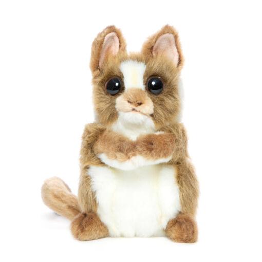 Mooie Licht bruine Spookdiertje met draaiend hoofd knuffel  15 cm kopen