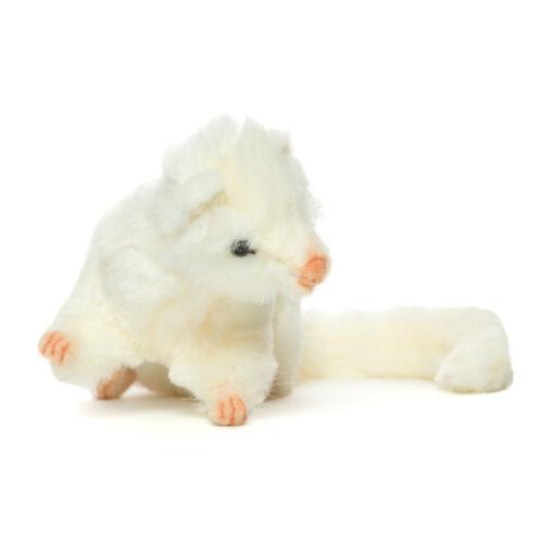 Mooie Witte fret knuffel  23 cm kopen