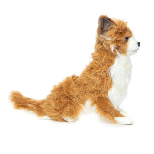 Mooie Roodbruine Chihuahua zittend knuffel  31 cm kopen