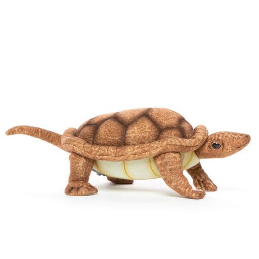Mooie Roodbruine Schildpad met beweegbaar hoofd L knuffel  22 cm kopen