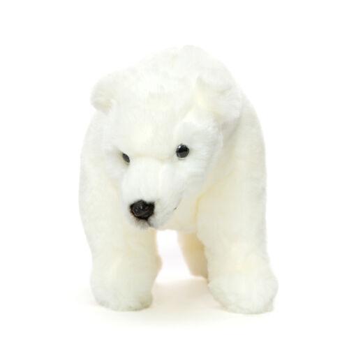 Mooie Witte IJsbeer staand knuffel  33 cm kopen
