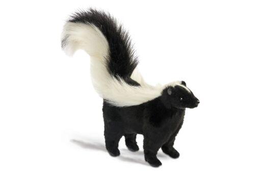 Mooie Witte Skunk  34 cm kopen