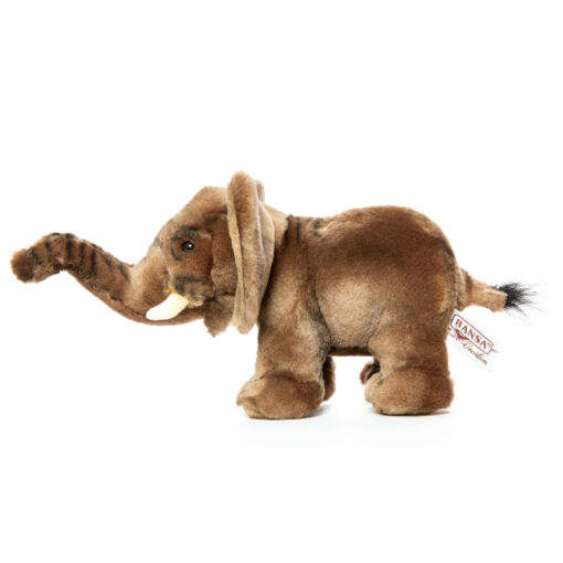 Mooie Grijze Olifant knuffel  23 cm kopen