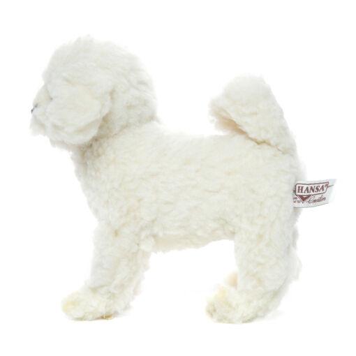 Mooie Witte Bichon hond knuffel  21 cm kopen
