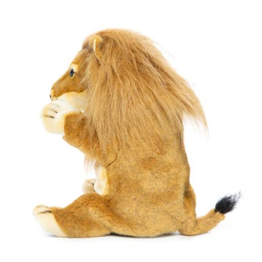 Mooie Witte Leeuw handpop  knuffel  28 cm kopen