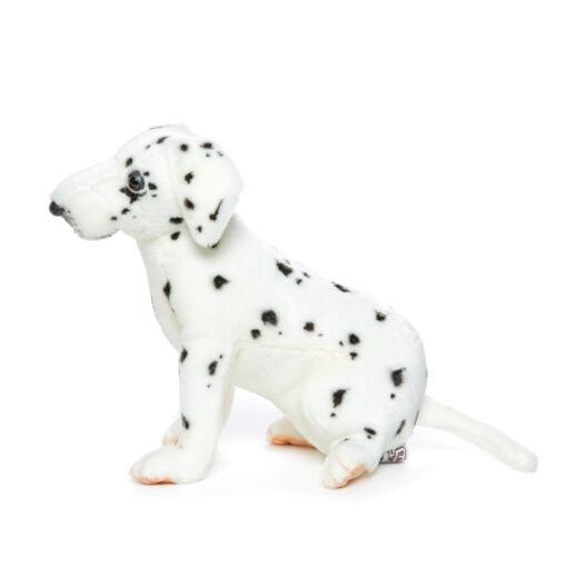 Mooie Witte Dalmatiër pup knuffel  26 cm kopen