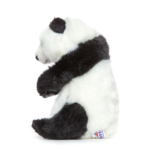 Mooie Zwarte Panda zittend knuffel  20 cm kopen