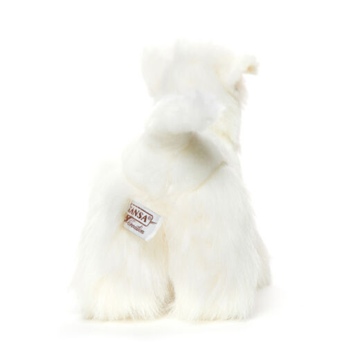 Mooie Witte Highland Terrier knuffel  26 cm kopen