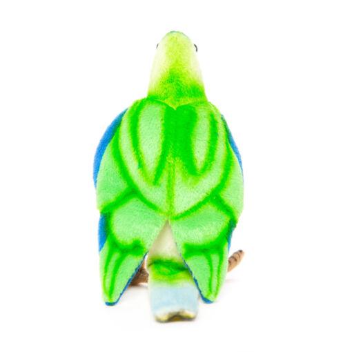 Mooie Groene Oranjebuikparkiet S. knuffel  15 cm kopen