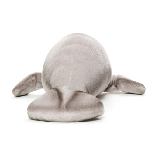 Mooie Grijze Lamantijn knuffel  45 cm kopen