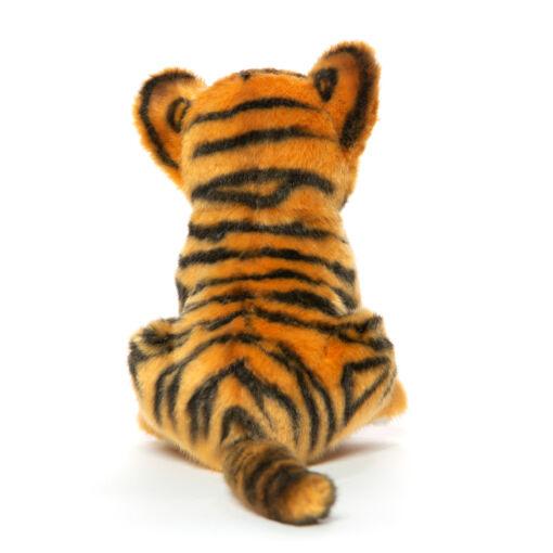 Mooie Zwarte Tijger welp knuffel  17 cm kopen