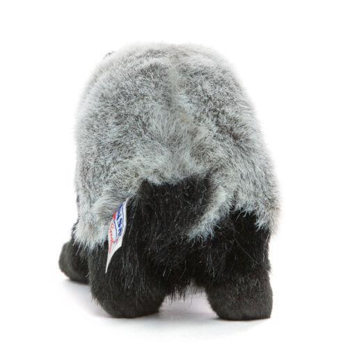 Mooie Zwarte Das knuffel  30 cm kopen