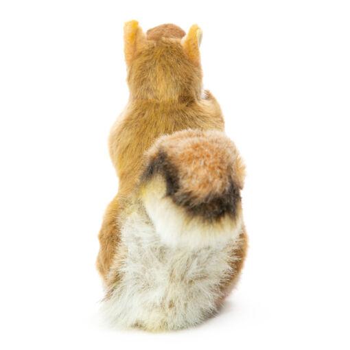 Mooie Witte Eekhoorn met noot knuffel  22 cm kopen