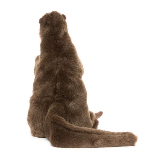 Mooie Bruine Otter handpop knuffel  28 cm kopen