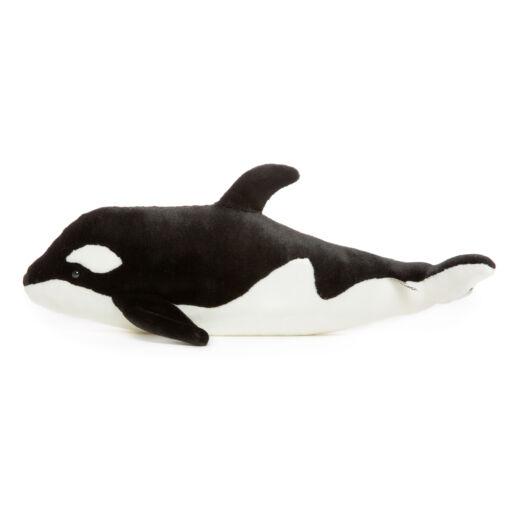 Mooie Zwarte Orka knuffel  53 cm kopen
