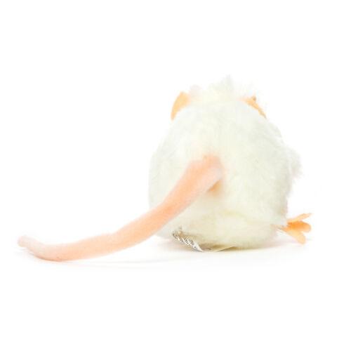 Mooie Witte Dikke rat wit knuffel  12 cm kopen