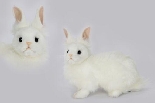 Mooie Witte Konijntje wit  30 cm kopen