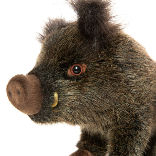 Mooie Bruine Wild zwijn zittend knuffel  30 cm kopen