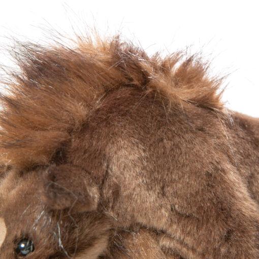 Mooie Bruine Wolharige neushoorn knuffel  34 cm kopen