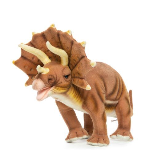 Mooie Roodbruine Triceratops knuffel  43 cm kopen