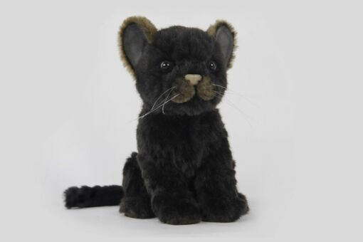 Mooie Zwarte Jaguar zwart L  17 cm kopen