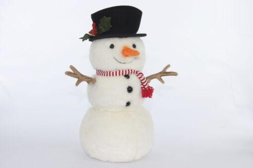 Mooie Witte Sneeuwman S  29 cm kopen
