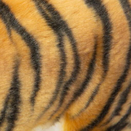 Mooie Goudgele Tijger roestbruin staand knuffel  40 cm kopen