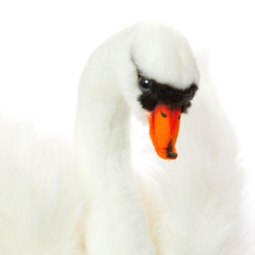 Mooie Witte zwaan decoratie  29 cm kopen